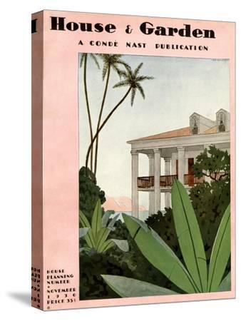 House & Garden Cover - November 1930