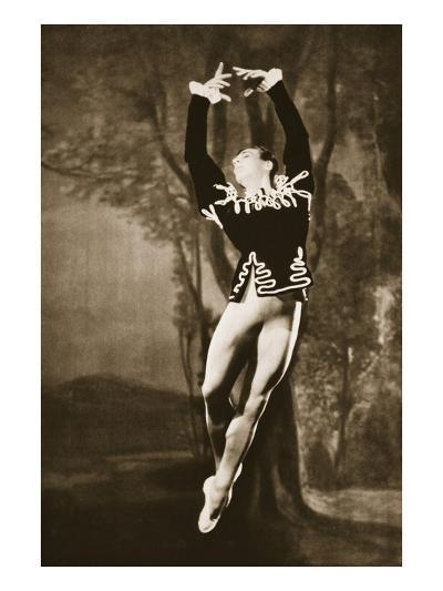 Andre Eglevsky in Swan Lake, from 'Grand Ballet De Monte-Carlo', 1949 (Photogravure)-French Photographer-Giclee Print