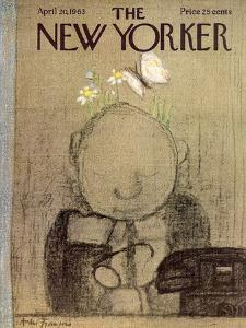 The New Yorker Cover - April 20, 1963 by Andre Francois