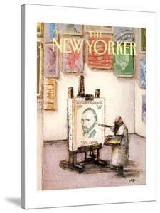 The New Yorker Cover - April 25, 1988 by Andre Francois