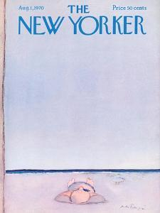 The New Yorker Cover - August 1, 1970 by Andre Francois