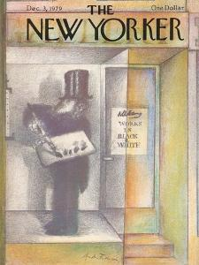 The New Yorker Cover - December 3, 1979 by Andre Francois
