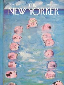 The New Yorker Cover - July 10, 1965 by Andre Francois