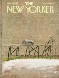 The New Yorker Cover - June 11, 1966 by Andre Francois