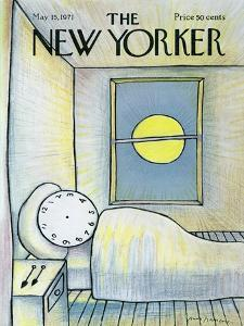 The New Yorker Cover - May 15, 1971 by Andre Francois
