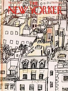 The New Yorker Cover - November 21, 1977 by Andre Francois