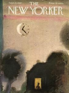 The New Yorker Cover - September 23, 1967 by Andre Francois