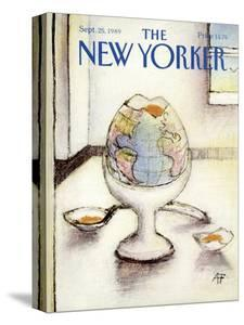 The New Yorker Cover - September 25, 1989 by Andre Francois