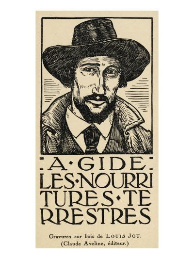 Andre Gide French Writer--Giclee Print