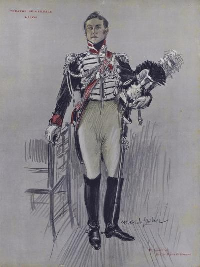 Andre Hall as Robert De Montenoi in L'Epave--Giclee Print