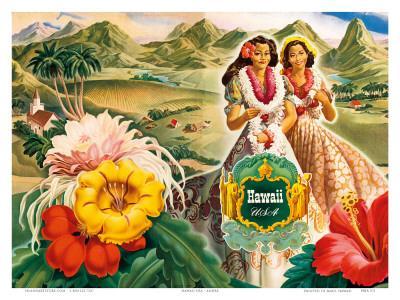 Hawaii USA, 1942 Hawaii Tourist Bureau booklet