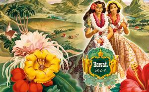 Hawaii USA, 1942 Hawaii Tourist Bureau booklet by Andre