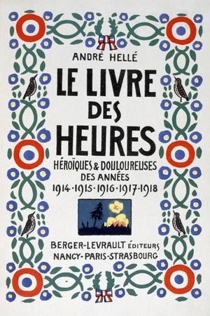 Frontpage of Le Livre Des Heures, 1919