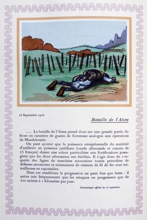 The Battle of the Aisne, 25th September 1914
