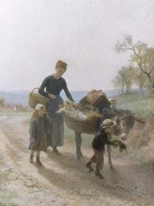 Homeward Bound by Andre Henri Dargelas