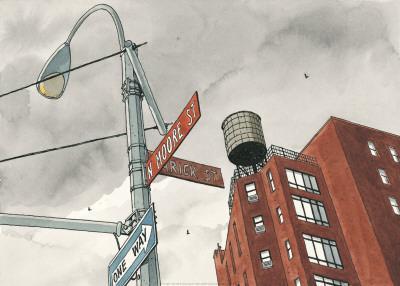 N. Moore Street