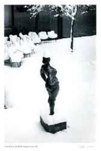 In MOMA Sculpture Court, 1967 by André Kertész
