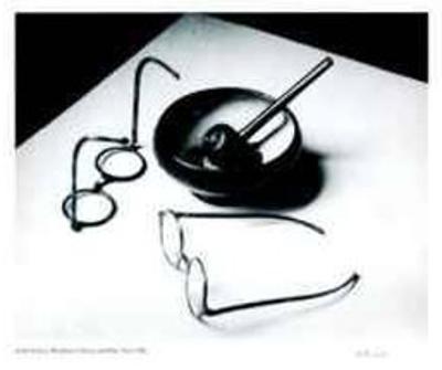 Mondrain's Glasses and Pipe