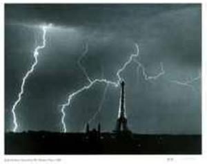 Storm From My Window by André Kertész
