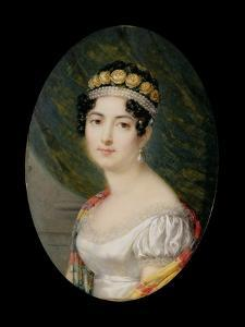 Portrait Miniature of the Empress Josephine by Andre Leon Larue