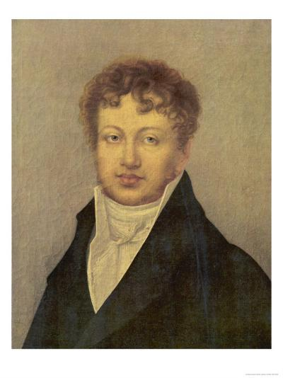 Andre Marie Ampere French Scientist--Giclee Print