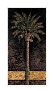 Dusk Palms I by Andre Mazo