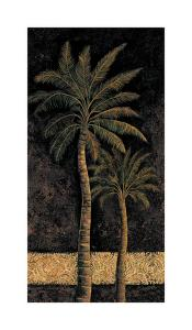 Dusk Palms II by Andre Mazo