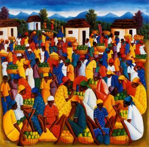 Haitian Art by Andre Pierre