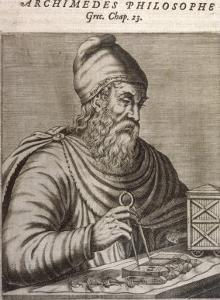 Archimedes Greek Mathematician and Inventor by Andre Thevet