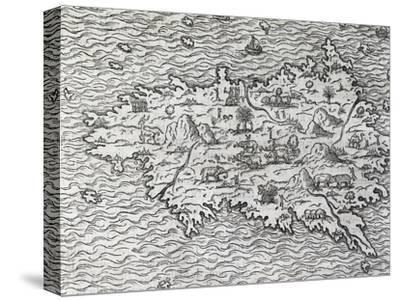 Map of Sumatra, Engraving