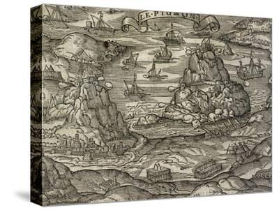Naval Battle Near Le Pignon Island