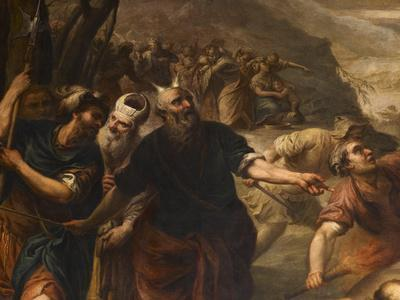 Moses Orders the Calf of Gold Destroyed