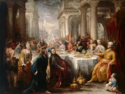 The Feast of Belshazzar, 1705
