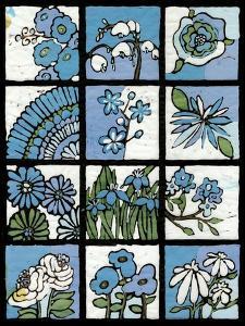 Asure Botanical I 12-Patch by Andrea Davis
