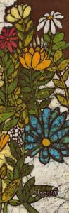 Batik Flower Panel II by Andrea Davis