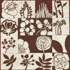 Brown Botanical 16-Patch by Andrea Davis