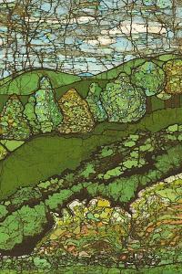 Green Landscape II by Andrea Davis