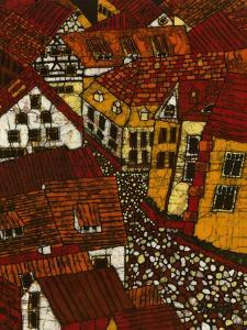 Red Roofs II by Andrea Davis