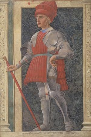 Farinata Degli Uberti (D.1264) from the Villa Carducci Series of Famous Men and Women