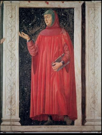 Petrarch (1304-74) from the Villa Carducci Series of Famous Men and Women, circa 1450