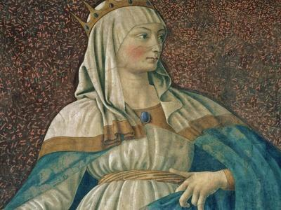Queen Esther, from the Villa Carducci Series of Famous Men and Women, circa 1450