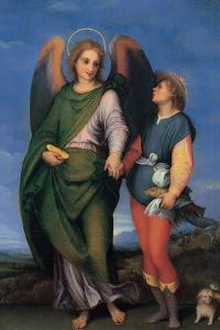 Archangel Raphael with Tobias by Andrea del Sarto