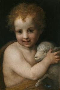 John the Baptist as Child by Andrea del Sarto