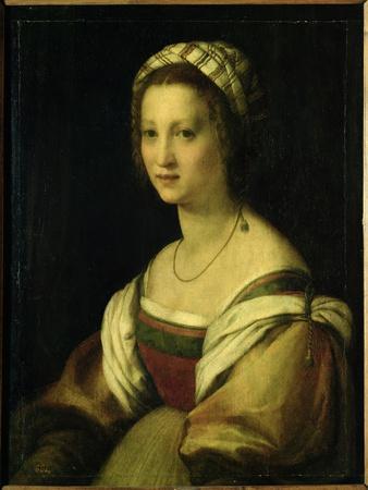 Lucrezia De Baccio Del Fede, the Artist's Wife