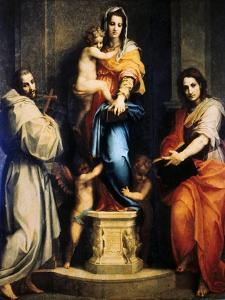 Madonna of the Harpies, 1517 by Andrea del Sarto