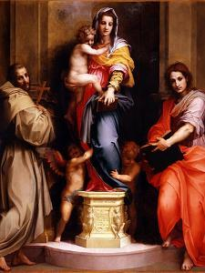 Madonna of the Harpies (Madonna Delle Arpi), 1517 by Andrea del Sarto