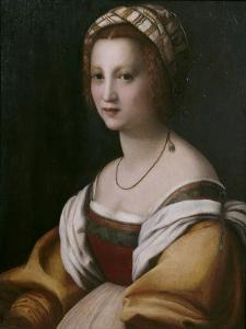 Portrait of a Woman by Andrea del Sarto