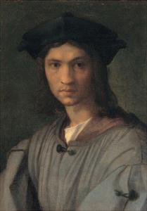 Portrait of Baccio Bandinelli (or Self-portrait) by Andrea del Sarto