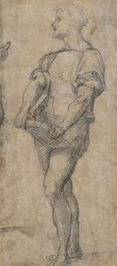 Standing Youth Holding a Book, Ca 1515 by Andrea del Sarto