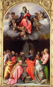 The Assumption of Mary by Andrea del Sarto